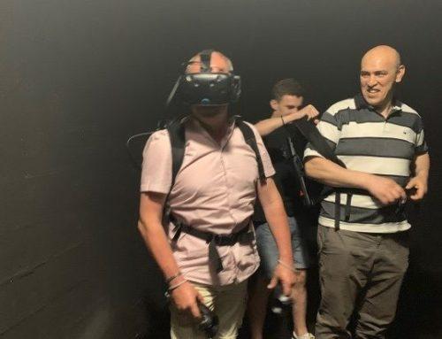 Stéphane Dronet prêt pour l'espace